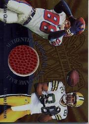 1997 Collector's Edge Masters Super Bowl Game Ball #4 A.Freeman/T.Glenn