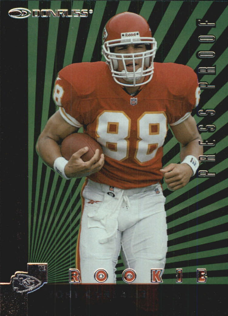 1997 Donruss Press Proofs Silver #211 Tony Gonzalez