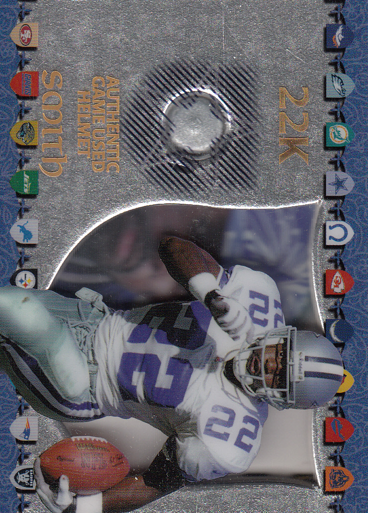 1997 Excalibur Game Helmets #5 Emmitt Smith