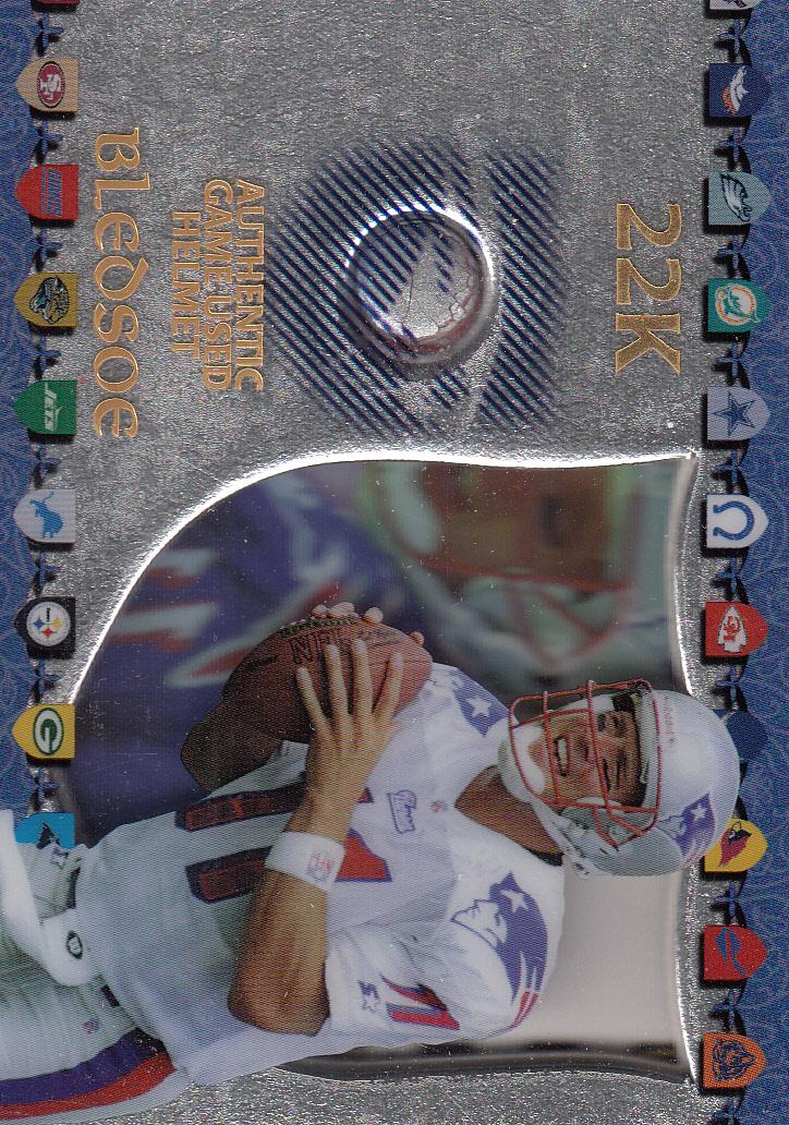 1997 Excalibur Game Helmets #6 Drew Bledsoe