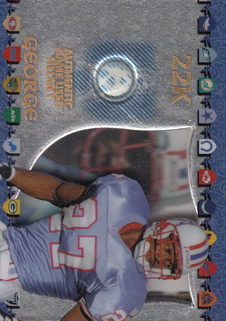 1997 Excalibur Game Helmets #9 Eddie George