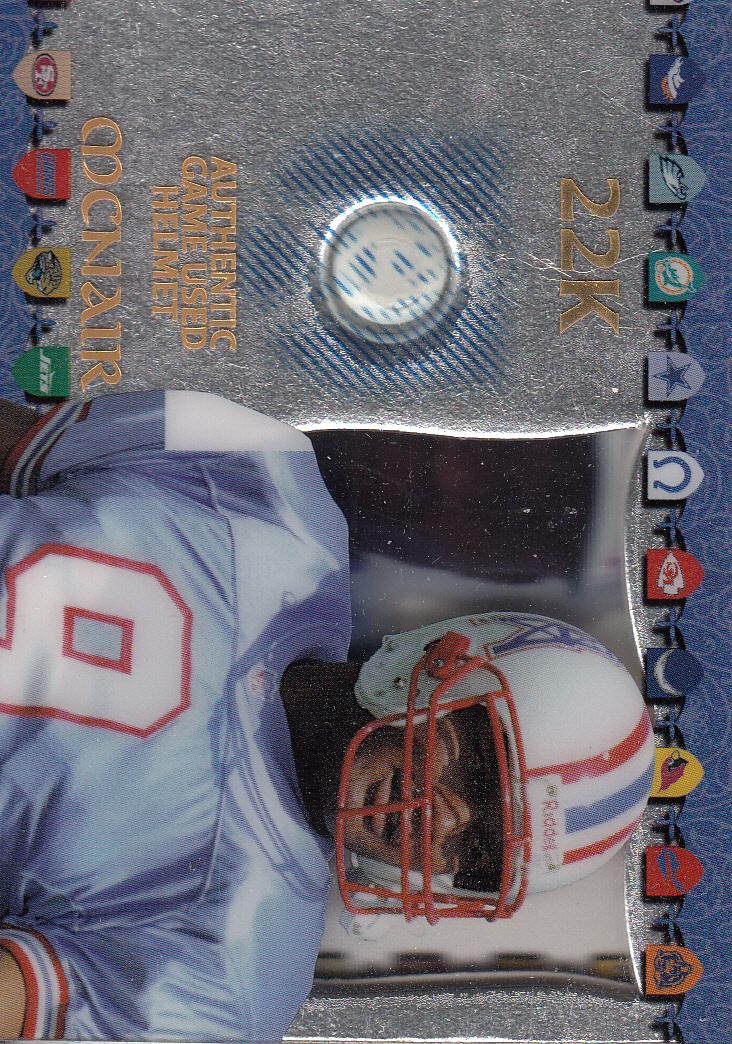 1997 Excalibur Game Helmets #14 Steve McNair