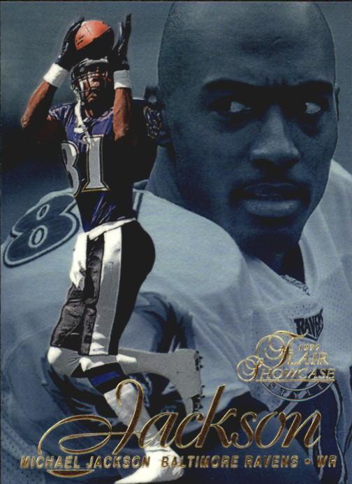 1997 Flair Showcase Row 2 #97 Michael Jackson