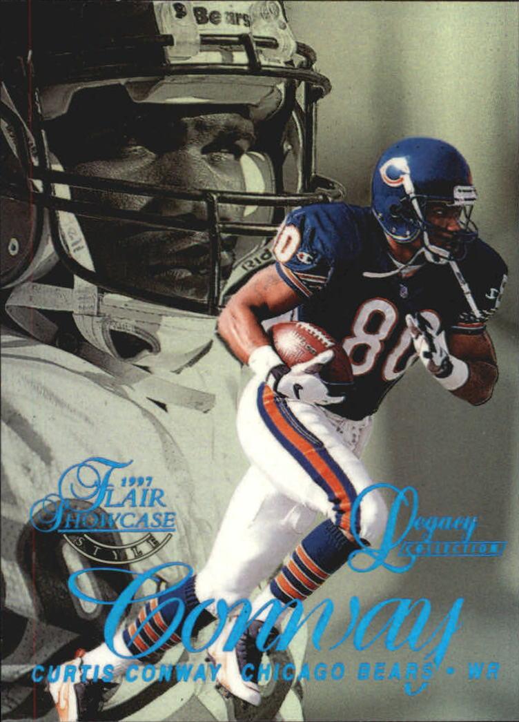caf8bf5c1e6 1997 Flair Showcase Legacy Collection #A102 Curtis Conway