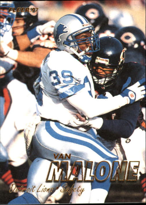 1997 Fleer #346 Van Malone