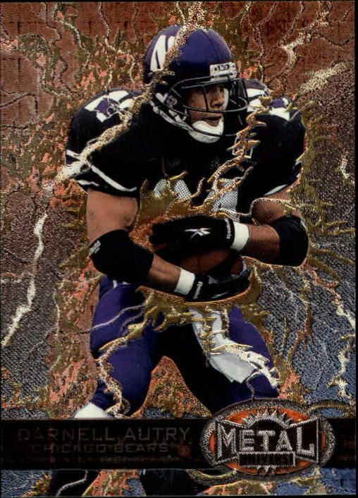 1997 Metal Universe #174 Darnell Autry RC