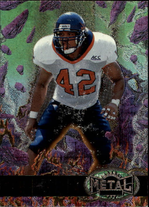 1997 Metal Universe #184 James Farrior RC