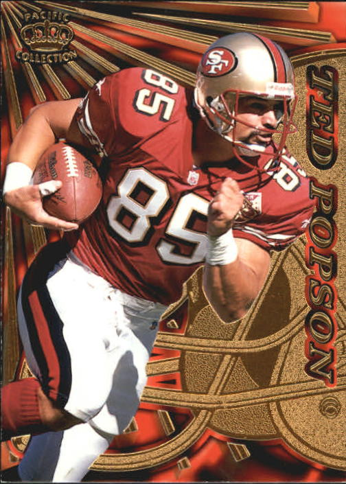 1997 Pacific Dynagon #129 Ted Popson RC