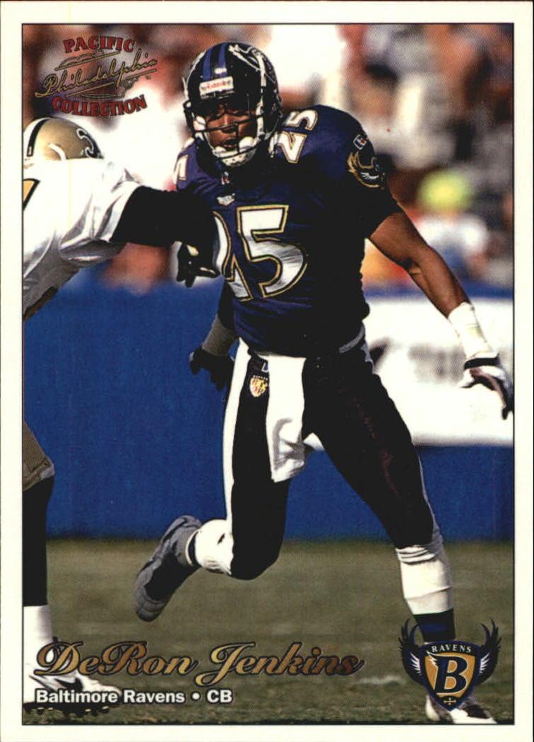 1997 Pacific Philadelphia #30 DeRon Jenkins