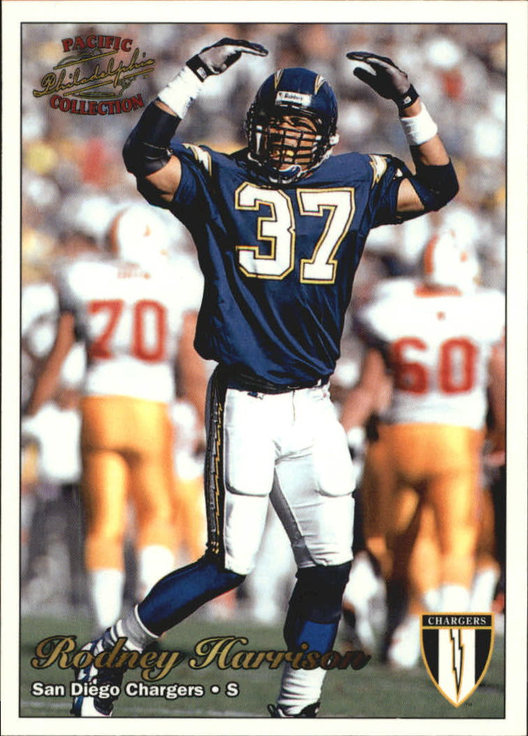 1997 Pacific Philadelphia #278 Rodney Harrison RC