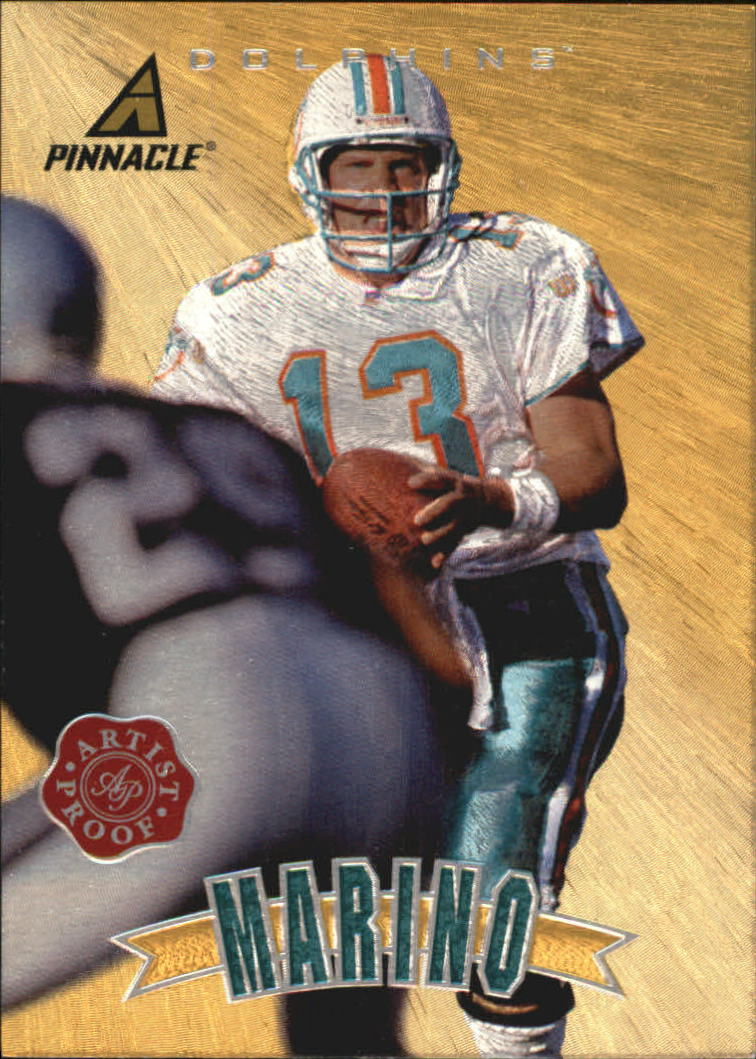 1997 Pinnacle Artist's Proofs #P2 Dan Marino