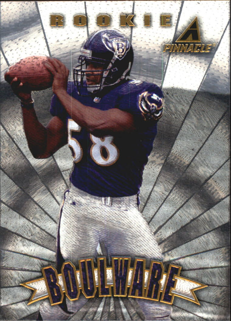 1997 Pinnacle Trophy Collection #P59 Peter Boulware