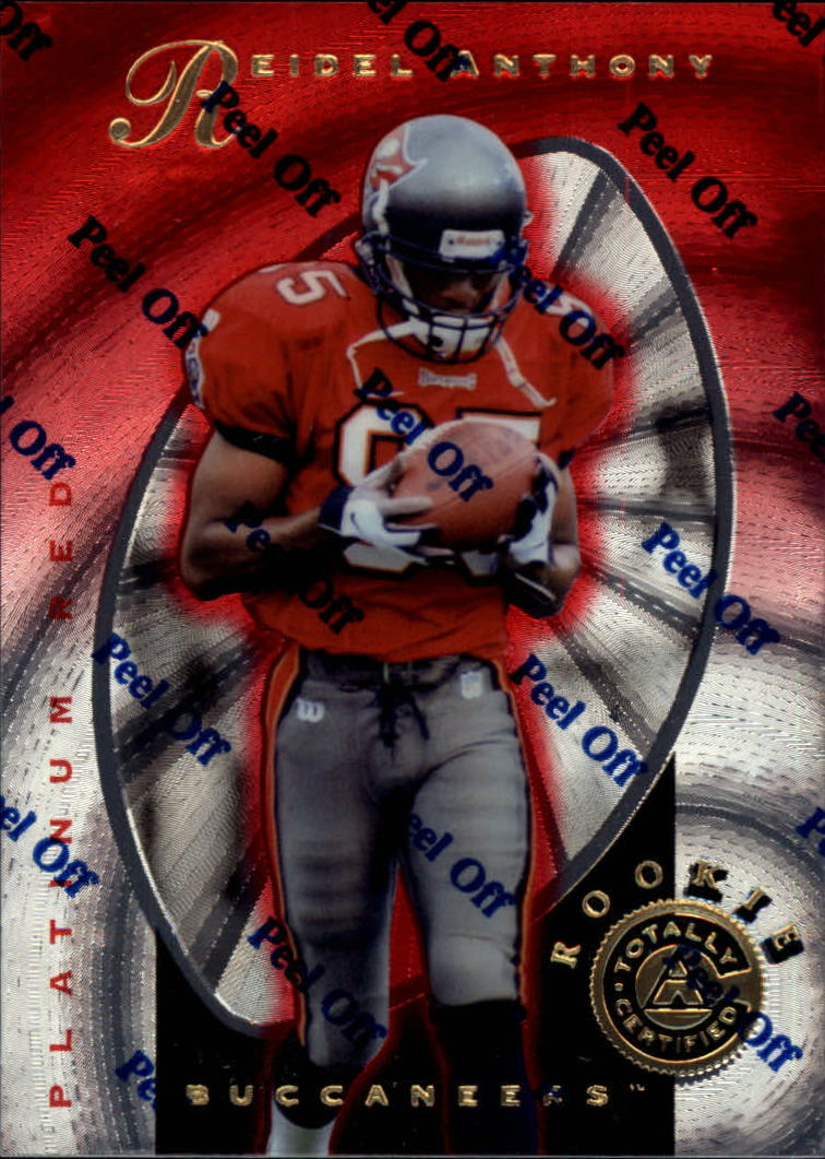 1997 Pinnacle Totally Certified Platinum Red #125 Reidel Anthony RC