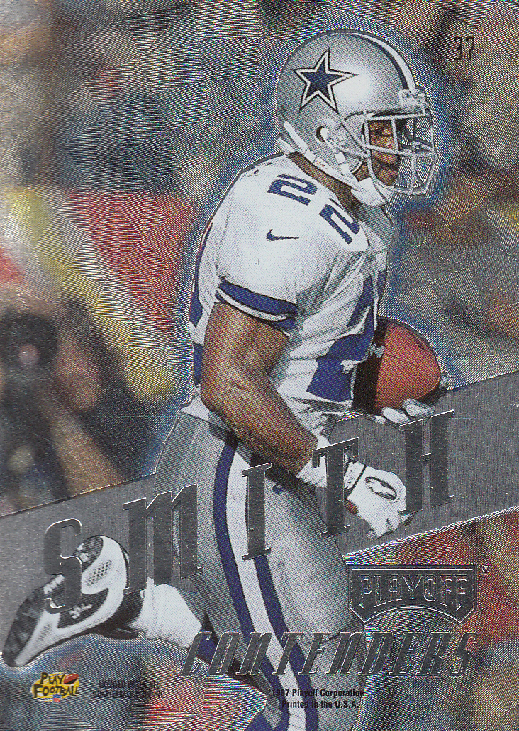 1997 Playoff Contenders #37 Emmitt Smith back image