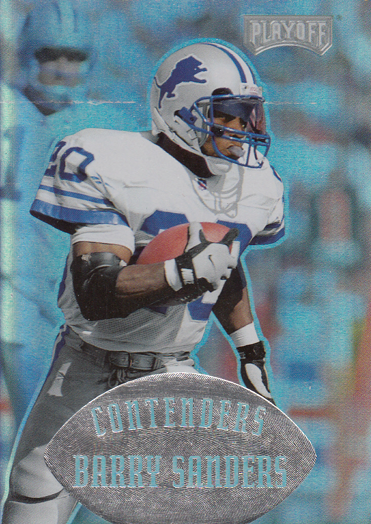 1997 Playoff Contenders #49 Barry Sanders