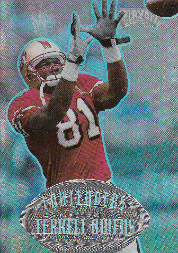 1997 Playoff Contenders #124 Terrell Owens