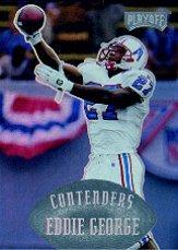1997 Playoff Contenders #144 Eddie George