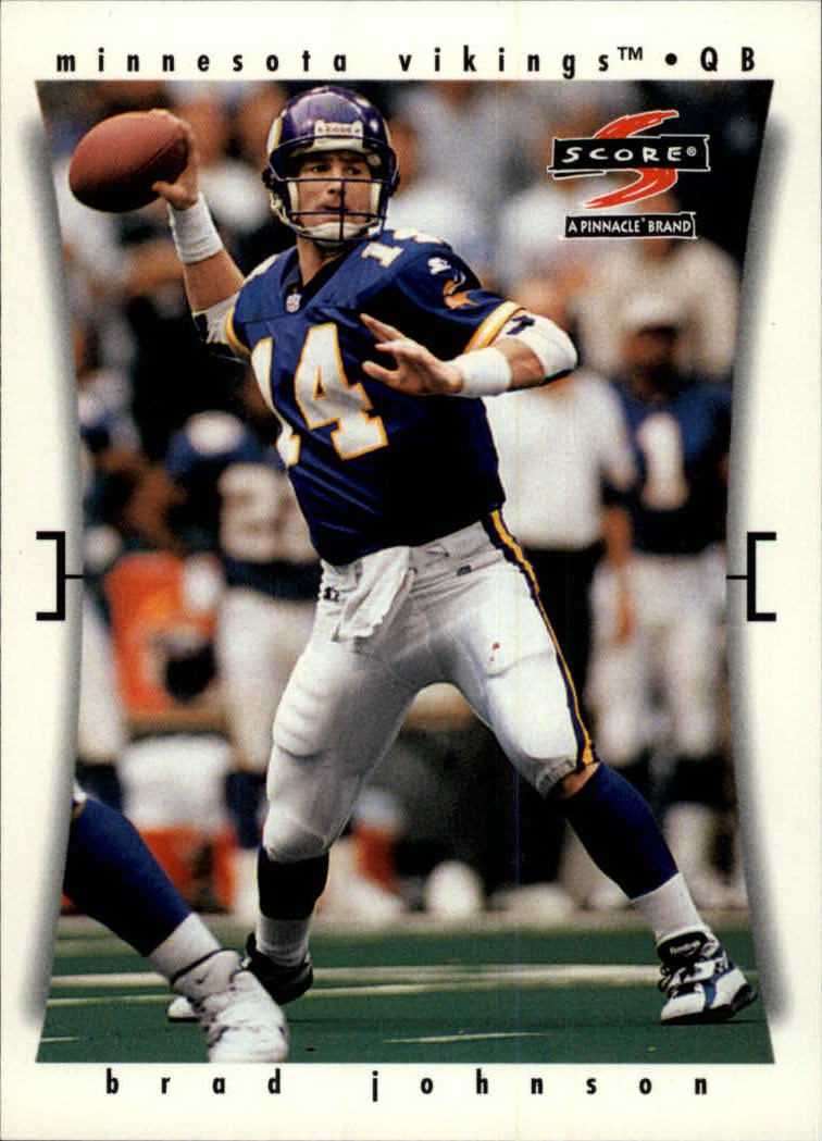 1997 Score #41 Brad Johnson