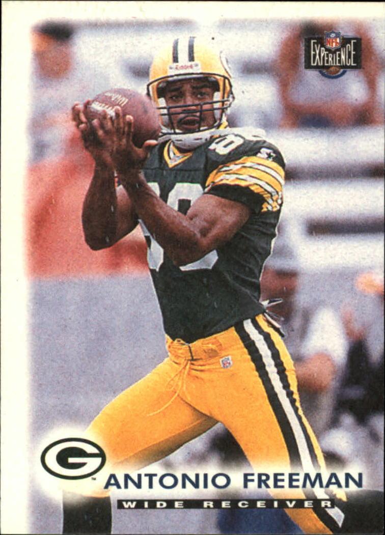 1997 Score Board NFL Experience #3 Antonio Freeman