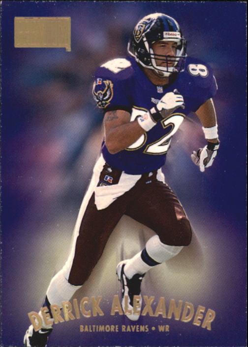 1997 SkyBox Premium #124 Derrick Alexander WR