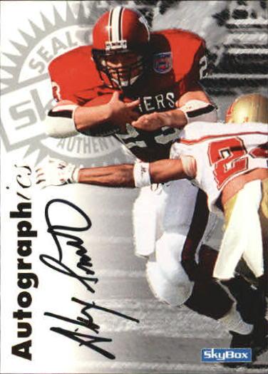 1997 SkyBox Premium Autographics #53 Alex Smith EX/IM/S