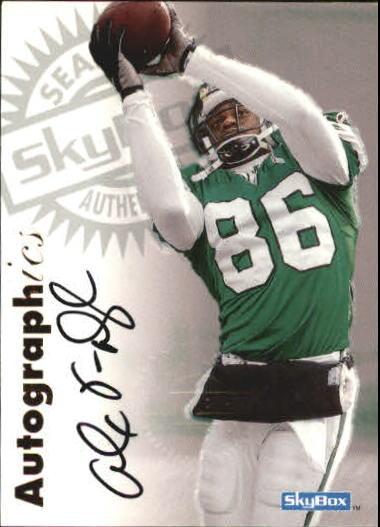 1997 SkyBox Premium Autographics #63 Alex Van Dyke EX/IM/S