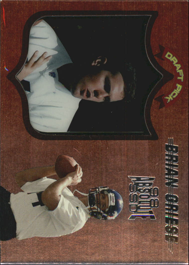 1998 Absolute Hobby #3 Brian Griese RC