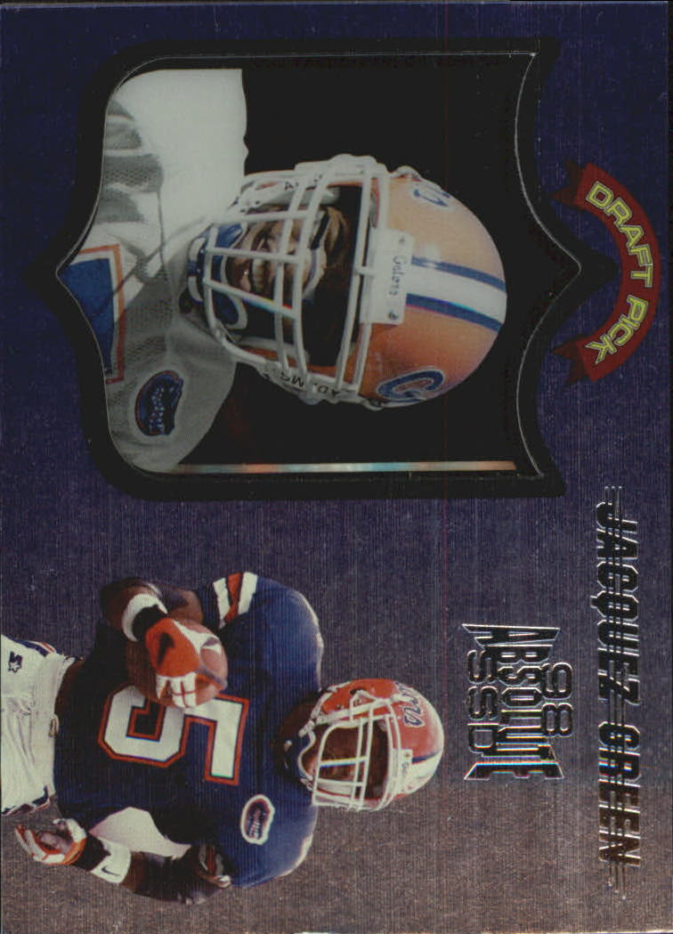 1998 Absolute Hobby #53 Jacquez Green RC