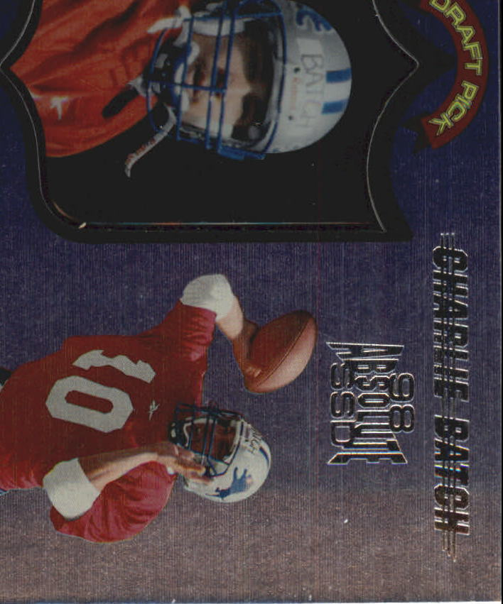 1998 Absolute Hobby #59 Charlie Batch RC