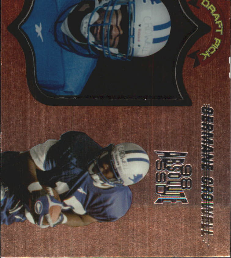 1998 Absolute Hobby #60 Germane Crowell RC