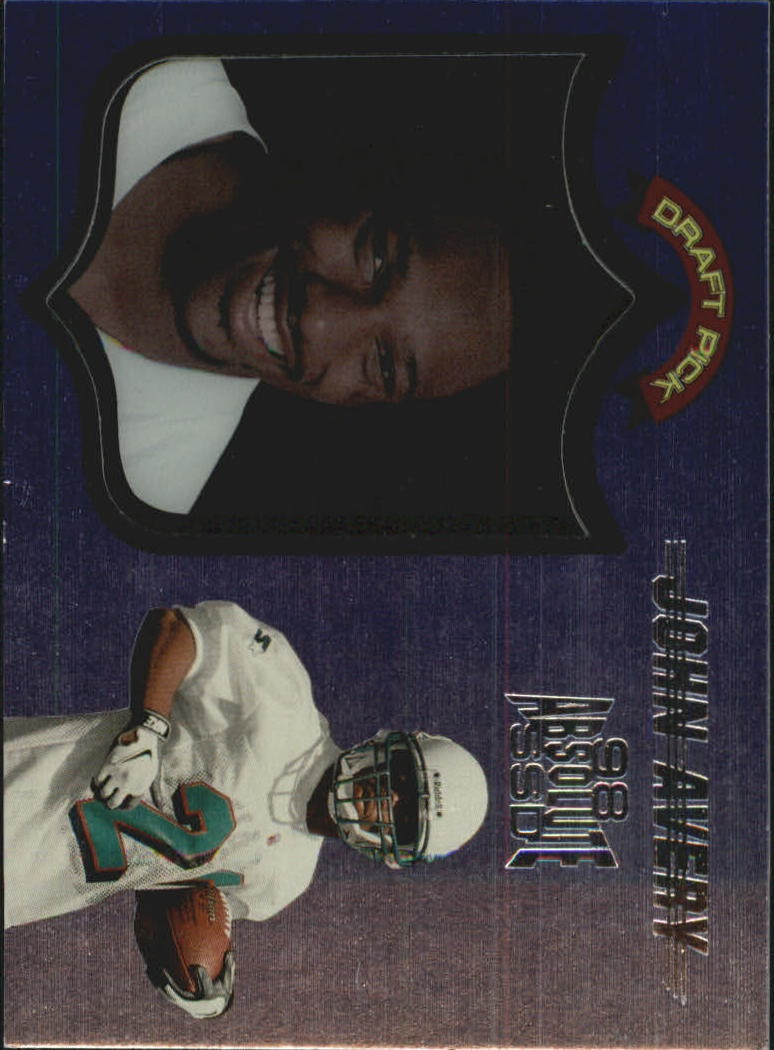 1998 Absolute Hobby #75 John Avery RC