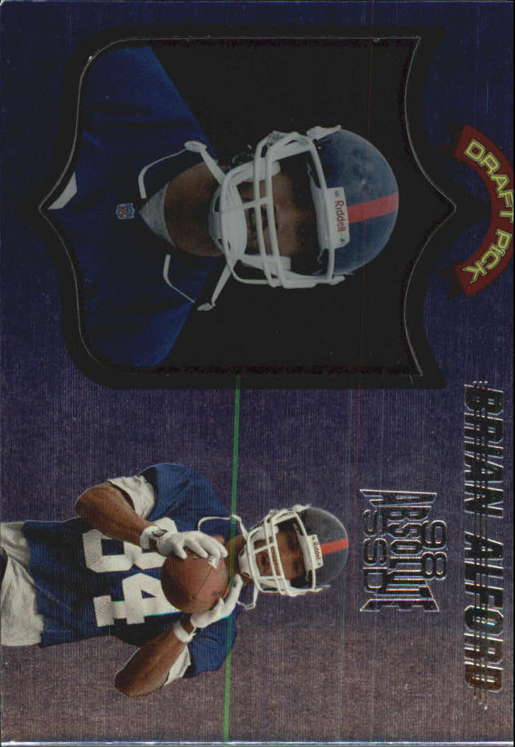 1998 Absolute Hobby #86 Brian Alford RC