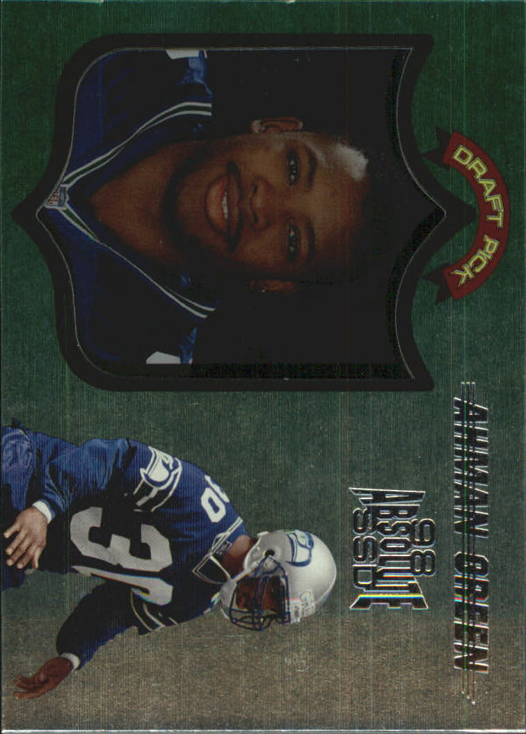 1998 Absolute Hobby #109 Ahman Green RC