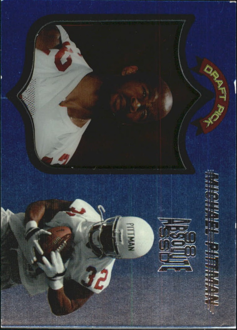 1998 Absolute Hobby #134 Michael Pittman RC