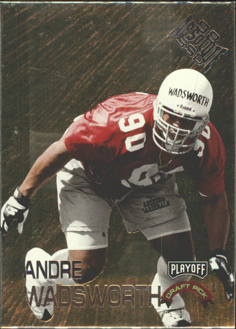 1998 Absolute Draft Picks #3 Andre Wadsworth