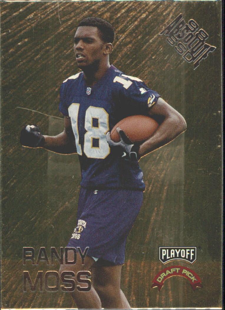 1998 Absolute Draft Picks #9 Randy Moss