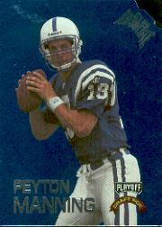 1998 Absolute Draft Picks Blue Die Cuts #1 Peyton Manning