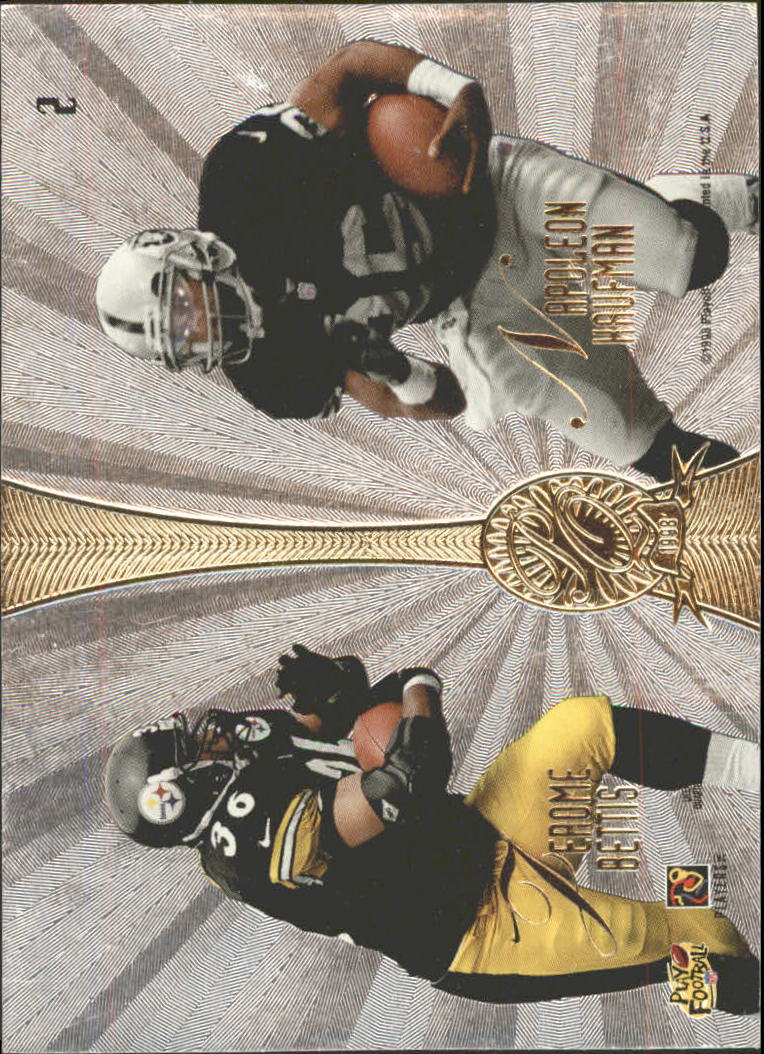 1998 Absolute Platinum Quads #2 Marino/T.Dav/Kauf/Bettis back image