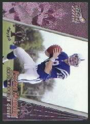 1998 Aurora Championship Fever Silver #22 Peyton Manning