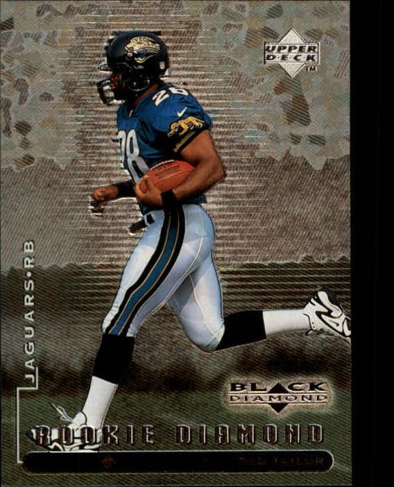 1998 Black Diamond Rookies #93 Fred Taylor RC