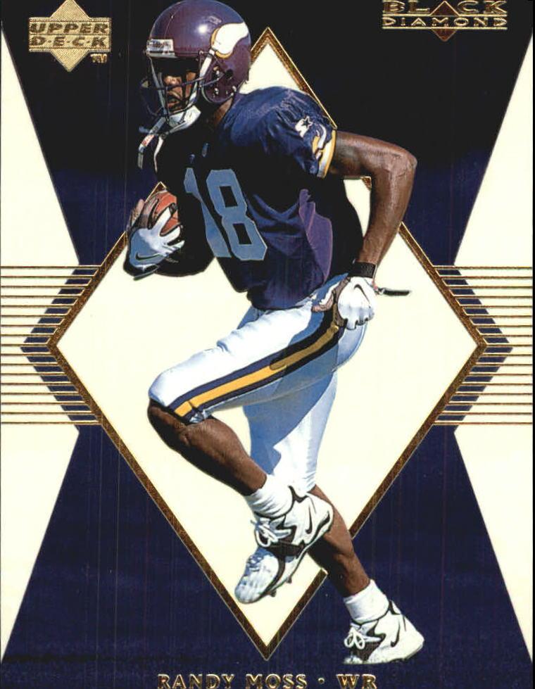 1998 Black Diamond Rookies White Onyx #ON18 Randy Moss