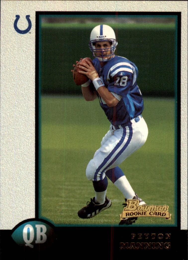 1998 Bowman #1 Peyton Manning RC