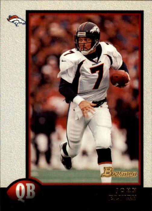 1998 Bowman #100 John Elway