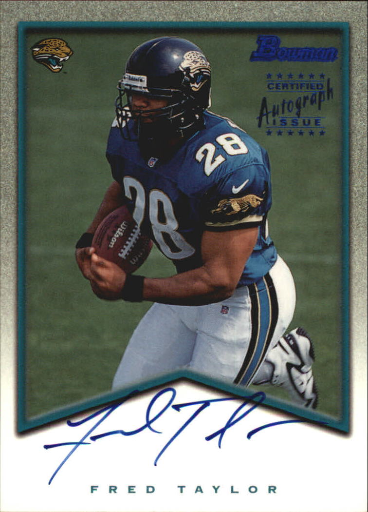 1998 Bowman Rookie Autographs #A5 Fred Taylor