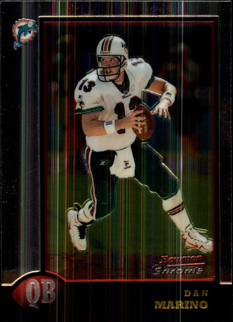 1998 Bowman Chrome #135 Dan Marino