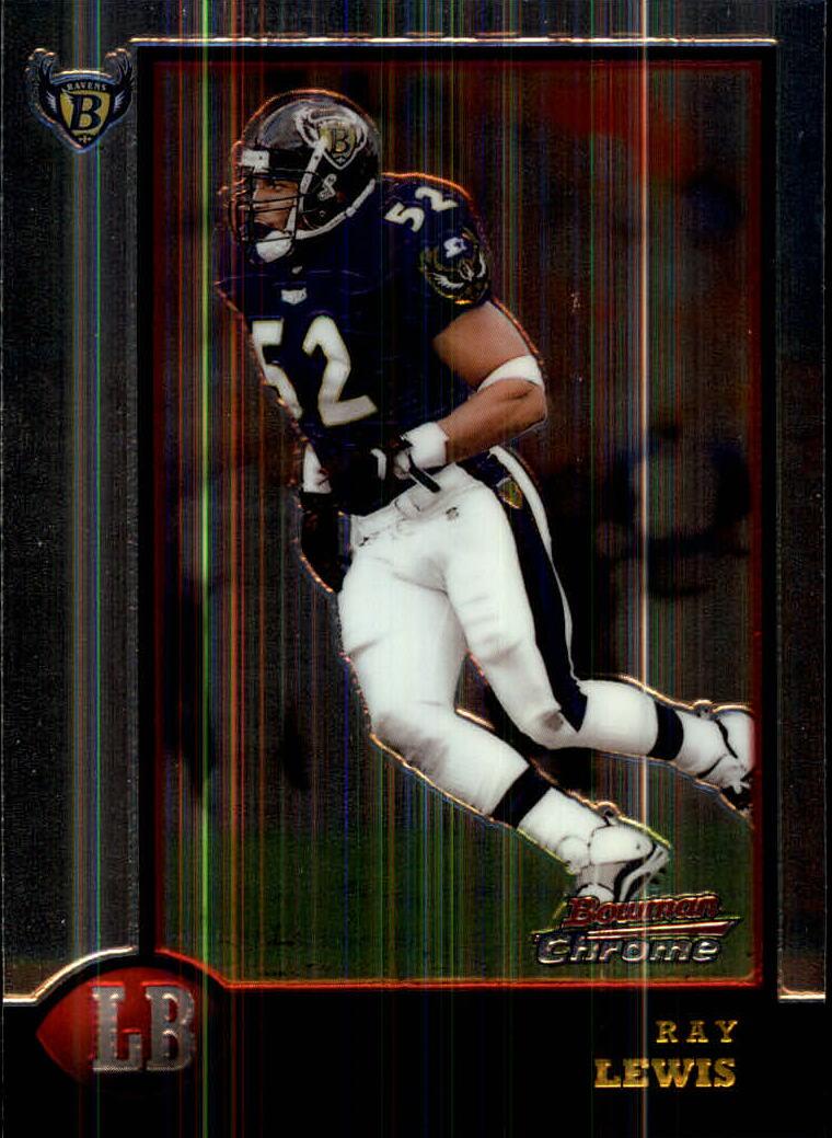 1998 Bowman Chrome #172 Ray Lewis