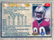 1998 Bowman's Best #20 Jerry Rice back image