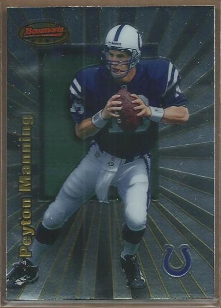 1998 Bowman's Best #112 Peyton Manning RC
