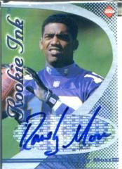1998 Collector's Edge First Place Rookie Ink #25 Randy Moss