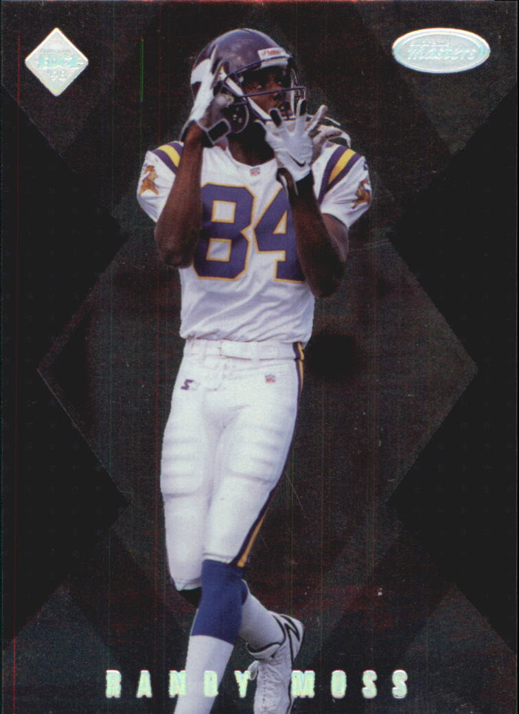 1998 Collector's Edge Masters #186 Randy Moss SM